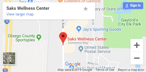 Map of Gaylord Chiropractors